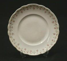 """Old Vintage Hudson by Homer Laughlin 7-1/8"""" Salad Plate Pink Roses Rim Gold Trim - $9.89"""