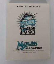 MLB Florida Marlins Inaugural Year 1993 Set of 7 Commemorative Magazines NEW - $24.29