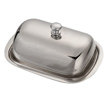 Huayao Stainless Steel Butter Dish Table Serving Tray Storage - $16.68