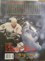 HOCKEY Yearbook Vancouver Canucks 2000/01 Player Bios - $19.79