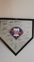 Ryan Howard Cole Hamells Pat Gillick 2008 Philadelphia Phillies signed - $899.00