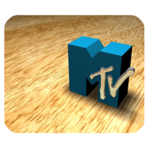 Mouse Pad MTV Logo Special Popular Music Editions For Game Animation Fan... - $9.00