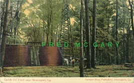 1908 Caddo Oil Field Louisiana Postcard with Interesting Commentary - $12.00