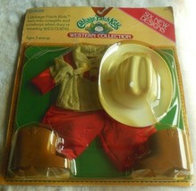 COLECO Vintage Cabbage Patch Kids Western Outfit 1984 - $65.00