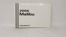 2005 Chevrolet Malibu Owners Manual 73412 - $23.25