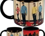 Star Trek Transporter Heat Changing Mug - Add Coffee Or Tea And Kirk, Spock, Mcc