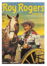 1992 Arrowpatch Roy Rogers Comics Trading Card #41 > Trigger > Happy Trail - $0.99
