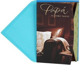 Hallmark VIDA Spanish Language Father's Day Greeting Card For Dad (Courage And - $13.47