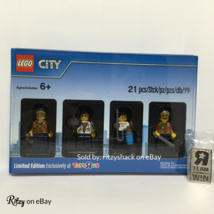 "Lego City RARE Toys R Us Bricktober Week 3 5004940 Minifigure Set with ""R"" Pin - $49.99"