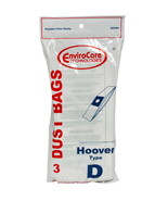 Envirocare Vacuum Bags Designed To Fit Hoover Type D Vacuums 823SW - $3.56