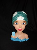 Hand Crocheted Toddler Snowflake Hat - $11.75