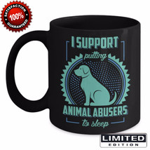 Animal Dog Cat Abuse Ceramic Coffee Mug Tea Cup Unique Gift Free Shipping - £15.68 GBP