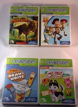 Leapster Games Lot of 4 Draw and Write Toy Story Dinosaurs - €15,82 EUR