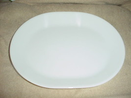 CORELLE WINTER FROST WHITE OVAL SERVING PLATTER NEW FREE USA SHIPPING - $26.17