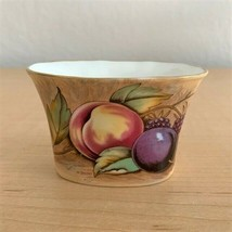Vintage Aynsley ORCHARD FRUIT Cigarette/Matchstick Holder Signed by N. B... - $29.21