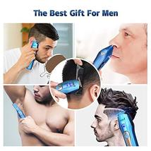 Ceenwes Cool 5 In 1Mens Grooming Kit Professional Beard Trimmer Rechargeable Ha image 4