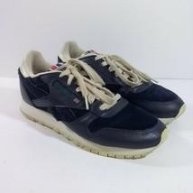 Reebok Women Blue Suede Casual Sneakers Size: 6 Made In Vietnam Model: 1... - $25.73