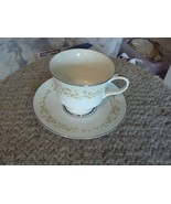 Sango cup and saucer (Cotillion) 7 available - $3.47