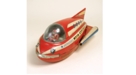 1960s MOON EXPLORER made by Masudaya  Tin plate Toy Vintage Used A34 - $936.09
