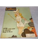 Colliers Magazine March 22, 1941 Rea Irvin Cover Pearl Buck War Issue - $6.95