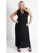 Sexy SWAK Designs Black Plus Size Bonnie or Lois Maxi Dress, Party Glamo... - $87.30 CAD