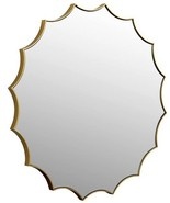 Wall Mirror DOVETAIL REBECCA Gold Warm Brushed Stainless - $729.00