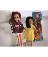 Vintage 1970 Ideal Mia HtF doll & Moc 1972 Outfit - $74.24