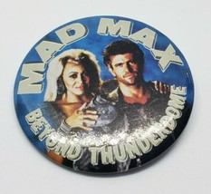 Vintage Mad Max Beyond Thunderdome Pinback Button Tina Turner Mel Gibson... - $12.00