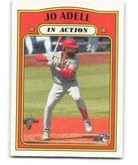 2021 Topps Heritage #188 Jo Adell NM-MT RC Rookie Angels In Action - $1.49