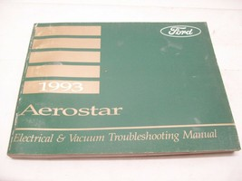 1993 Ford Aerostar Electrical & Vacuum Troubleshooting Manual - $13.85