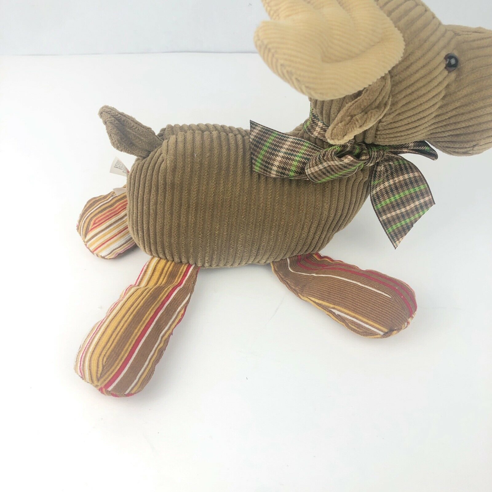 "Gund Chester Plush Moose 12"" Stuffed Beans Cordy Fall Friends Original Tags Toy image 8"