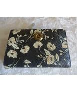 $88.00 Lauren Ralph Lauren Millbrook Compact Wallet, Black Floral - $42.57