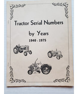 Tractor Serial Numbers Allis Chalmers, Ford, Oliver, Ferguson and More - $8.59