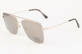 Tom Ford MAGNUS 651 28C Gold / Gray Mirror Sunglasses TF651 28C MAGNUS-0... - $195.02