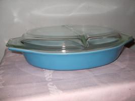 Vintage Pyrex Divided Casserole Dish--1 QT - $25.00