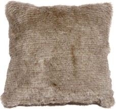 Pillow Decor - Tundra Hare Faux Fur 20x20 Throw Pillow  - SKU: YB1-0004-... - £30.60 GBP