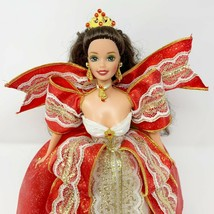 1997 Happy Holidays Barbie Doll #17832 Brunette Mattel  - $19.80