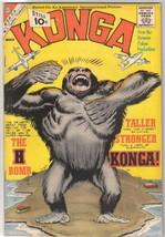 Konga Movie Comic Book #5, Charlton Comics 1962 FINE- - $27.98