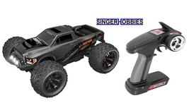 Team Redcat TR-MT10E 1/10 RC Brushless Monster Truck RTR Gun Metal RER08... - $349.99