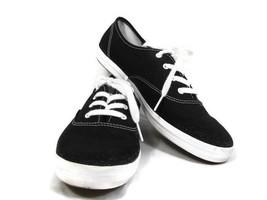 270593a246dd5 Keds Champion Women  39 s Black Canvas Sneaker Shoes Lace Up Size 10 M