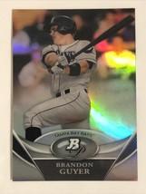 Brandon Guyer 2011 Bowman Platinum Prospects X-Fractors #BPP80 Tampa Bay... - $1.39