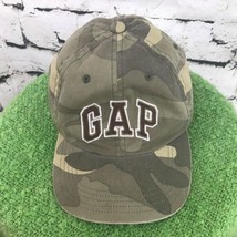 Gap Boys Sz S-M Hat Camouflage Adjustable Baseball Cap Flaw - $12.86
