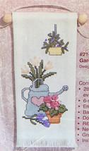 Janlynn Boutique Banners Gardening Joy Ribbon Embroidery Cross Stitch Ki... - $9.95