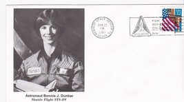 Astronaut Bonnie J. Dunbar STS-89 Launch Kennedy Space Center, Florida 1/22/1998 - $1.78