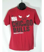 Adidas NBA Chicago Bulls Basketball T-Shirt The Go TO Tee Mens Size Larg... - $18.99
