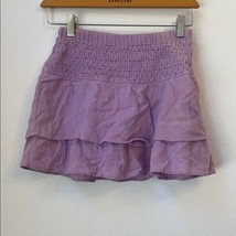 Girls GAP Solid Purple Mini Skirt Size M (8) - $143.55
