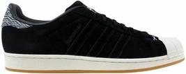 Adidas Superstar Black/Black-White Camo B27737 Men's - $71.67