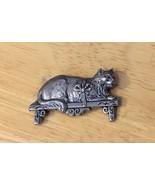 Cat On A Shelf Pin - $7.69