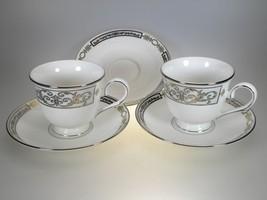 Lenox Antiquity 2 Cups & 3 Saucers - $42.52
