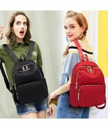 Student Canvas Shoulder School Women Backpack Laptop Books Champion Ruck... - $39.58